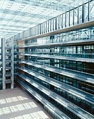 Sunny open office atrium (thumbnail)