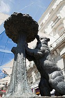 Bear statue, Puerto de Sol, Madrid, Spain