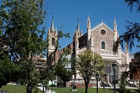Iglesia de Los Jeronimos church, Madrid, Spain