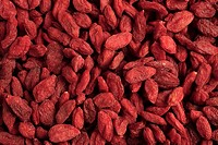 Goji, Gojiberry or Wolfberry is a medicinal plant and food in the chinese kitchen
