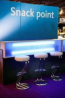 Snack Point, takeaway at the Cologne Trade Fair, Cologne, North Rhine-Westphalia, Germany, Europe