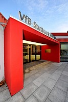 Office of the VfB Stuttgart football club, Stuttgart, Baden_Wuerttemberg, Germany, Europe