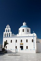 Main church of Panagia of Platsani, Oia, Santorini, Greece