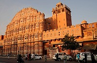 Hawa Mahal, Palace of Winds, Jaipur, Rajasthan, North India, India, South Asia, Asia