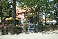 Schlosskrug inn, Quedlinburg, Saxony-Anhalt, Germany, Europe