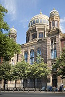 New Synagogue, Berlin, Germany, Europe