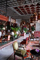 Lobby, The Mandarin Oriental Hotel, Bangrak, Bang Rak district, Bangkok, Krung Thep, Thailand, Asia