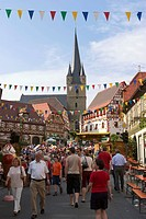 Vine festival in Zeil am Main - Franconia - Germany