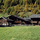 Old Farm Houses, South Tyrol, Italy