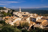 The village of Saint Saturnin les Apt Vaucluse 84 Luberon PACA FRance Europe