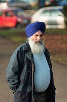 A local man from Coventry's Sikh community  West Midlands, England