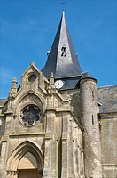 Saint Sauveur Church Beaumont en Auge Calvados 14 Normandy France