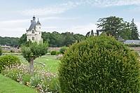 UNESCO World Heritage, Loire Valley, Loire River, Cher River, Chenonceau Castle, Château de Chenonceau, Chenonceaux, Indre_et_Loire, Centre, France, E...