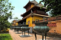 Vietnam, Thua Thien Hue, Hue classified World Heritage by UNESCO, an imperial city,