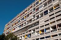 Unite d´Habitation by Le Corbusier, Marseille, France
