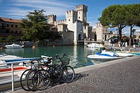 Castle at Sirmione, Lake Garda, Italy