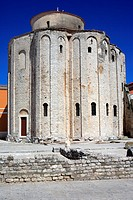 St  Donatus church 10th century, Zadar, Zadar county, Croatia