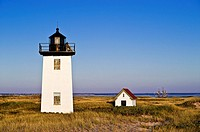 Long Point Lighthouse, Provincetown, Cape Cod, MA, Massachusetts, USA