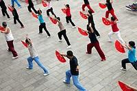 Tai chi, Anshun, Guizhou, China