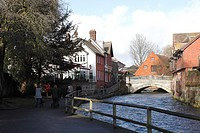 Bridge over the River Itchen Winchester