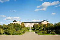 Sweden, Uppland, Uppsala, palace in botanical gardens
