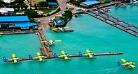 Indian Ocean, Maldives, Trans Maldivian Airways seaplane company