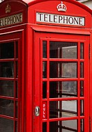 United Kingdom, Traditional red telephone box