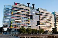 NAB building, Victoria harbour, Docklands, Melbourne, Victoria, Australia