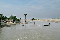 A view of Sudarbans, a UNESCO World Heritage Site and a wildlife sanctuary The largest littoral mangrove forest in the world, it covers an area of 38,...