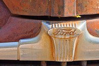 Rusty Ford automobile