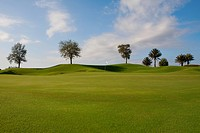 Golf course, Miami Beach, Florida, USA