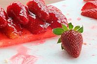 Erdbeere mit Törtchen