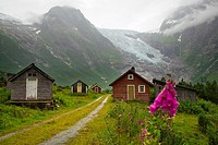 Boyabreen Glacier Sognefjord Sogn & Fjordane Norway.
