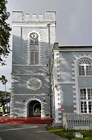 St  Mary´s Church Anglican Bridgetown Barbados Caribbean Cruise NCL
