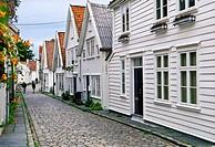 Old Stavanger, Ovre Strandgate street Stavanger, NORWAY.