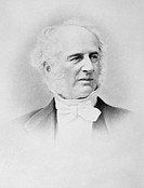 Cornelius Vanderbilt 1794_1877, US industrialist. Vanderbilt made his money in shipping and trains, and was one of the wealthiest men in history. He w...