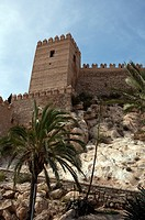 The Alcazaba  Moorish fortified building  X century