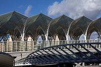 Oriente Station, designed by Calatrava