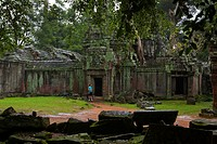 Ta Prohm is the modern name of a temple at Angkor, Siem Reap Province, Cambodia, built in the Bayon style largely in the late 12th and early 13th cent...