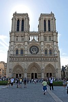 UNESCO World Heritage, Notre Dame Cathedral, Notre Dame de Paris, Île de la Cité, 4th Arrondissement, Paris, Ile_de_France, France, Europe