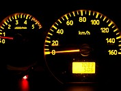 Speedometers a permissible maximum weight truck 3 500 kilos