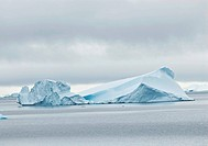 Antarctica, View of Iceberg in andvord bay
