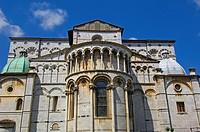 Lucca, Cathedral, Duomo di San Martino, St Martin Cathedral, Tuscany, Italy.