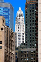 United States, Illinois, Chicago, buildings