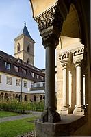 Karmelitenkirche, Kreuzgang, Bamberg, Germany