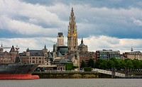 Skyline of Antwerp, Belgium