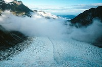 Franz Josef Glacier on the South Island of New Zealand