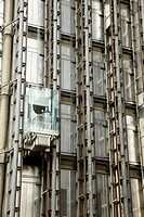 Lift car, Lloyd's building, London, England, United Kingdom