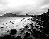 The Black Cuillens from Elgol Beach, Isle of Skye, Scotland