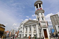 Presbeterian church ´ Igreja presbiteriana independente de Curitiba´, Praca Garibaldi, Curitiba, Paraná, Brazil.